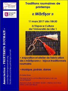 affiche Martisor 2017