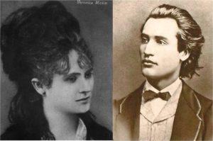 Mihai Eminescu et Veronica Micle