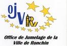Logo Office de Jumelage de la Ville de Ronchin