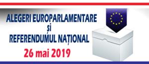 Alegeri europarlamentare si referendum 26 mai 2019