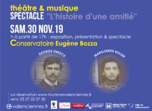 L'Histoire d'une amitié George Enescu